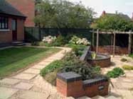 picture of low maintenance garden